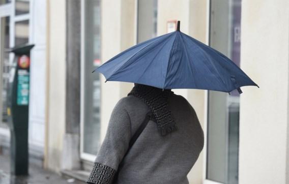 Een zondag om binnen te blijven: regen en wind