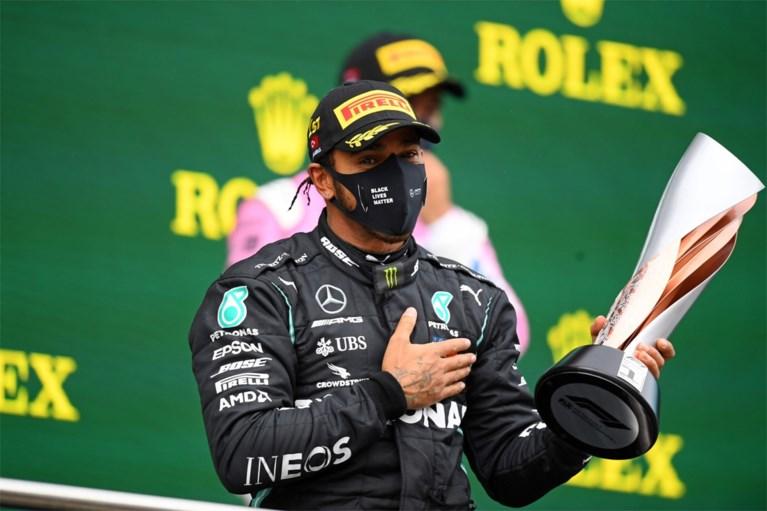 Hamilton wint spectaculaire GP Turkije en pakt zevende wereldtitel