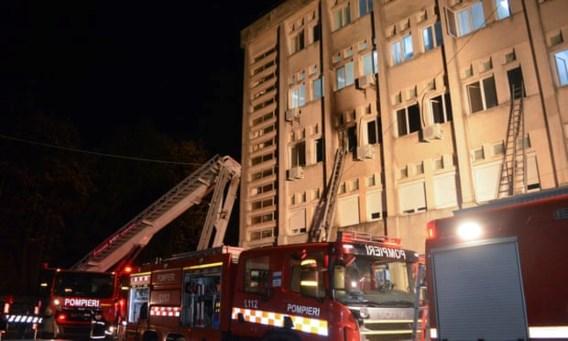 Roemeense heldendokter in België voor behandeling brandwonden
