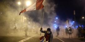 Peru krijgt derde president in amper een week tijd