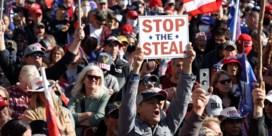 Zelfs na de pro-Trump mars staat de president nergens