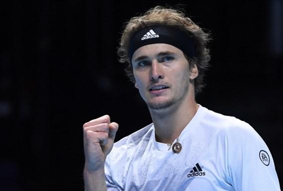 Alexander Zverev houdt kansen gaaf op ATP Finals met zege tegen Diego Schwartzman