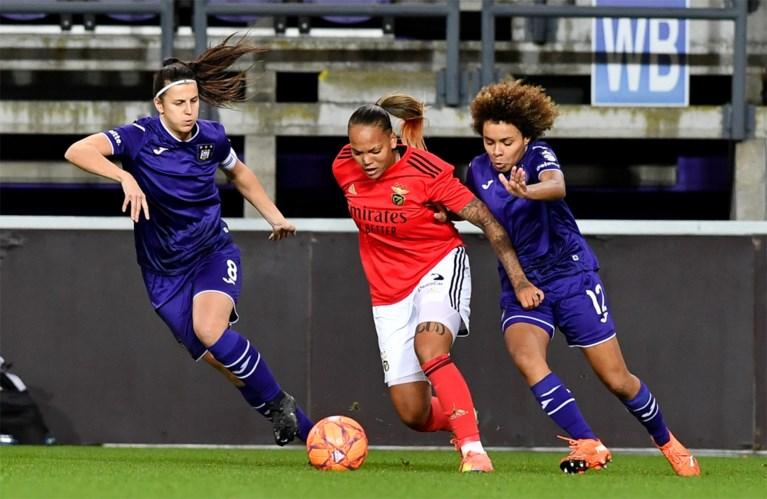 Vrouwen van Anderlecht verrassend uitgeschakeld in tweede voorronde Champions League
