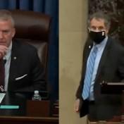 Amerikaanse senatoren in de clinch over mondmaskers: 'Ik heb uw instructies niet nodig'