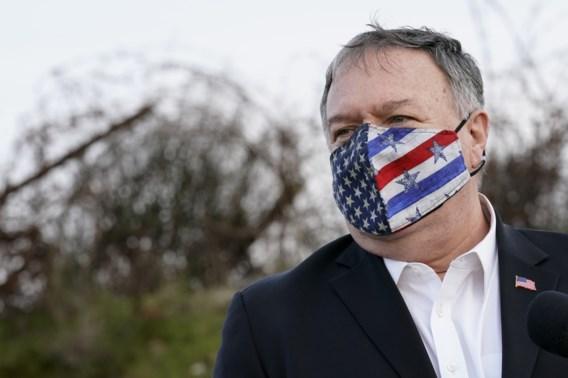 Pompeo bij bezoek aan Golanhoogten: 'Dit is deel van Israël'