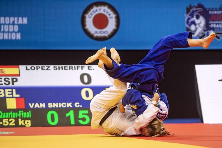 Jorre Verstraeten en Charline Van Snick bezorgen België twee bronzen medailles op eerste dag EK judo