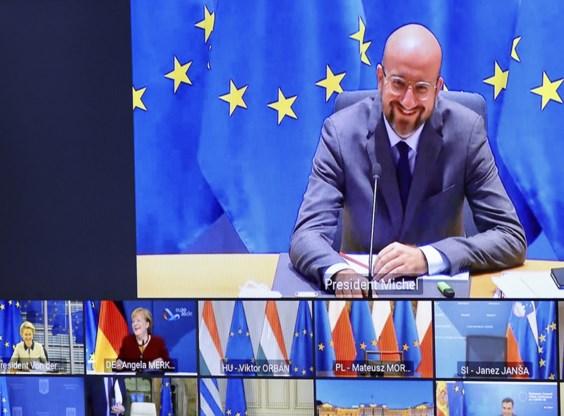 Polen en Hongarije blijven Europese meerjarenbegroting blokkeren<BR />