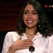 Presentatrice Danira pinkt traantje weg in laatste aflevering 'Vandaag'