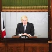 Hilariteit in Britse Lagerhuis door technisch probleem Johnson