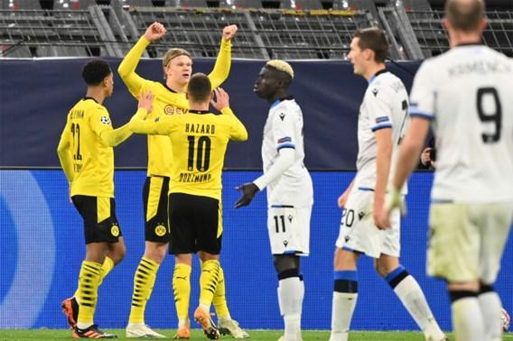 Club Brugge verliest kansloos op Dortmund