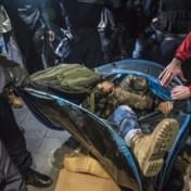 Franse politie ontmantelt tentenkamp in Parijs hardhandig