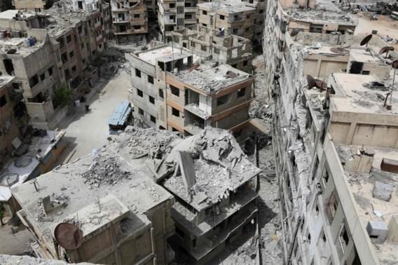 'Israëlische luchtaanvallen in Syrië'