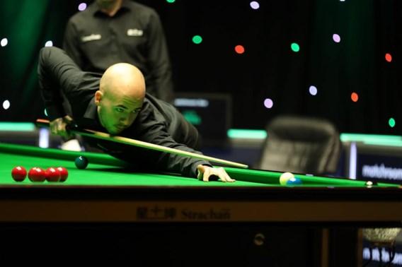 Luca Brecel in tweede ronde UK Championship snooker tegen Xiao Guodong