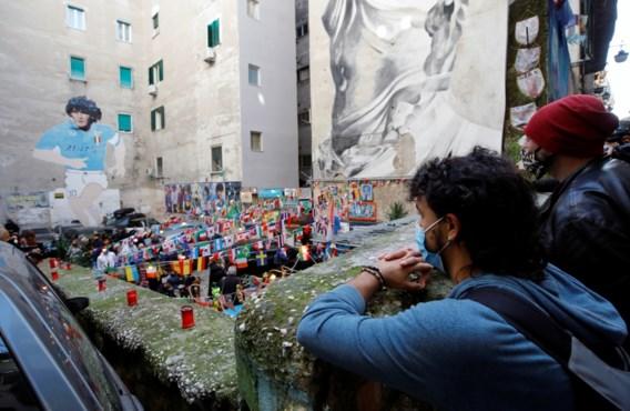 Napels in diepe rouw om Diego: halfgod en 'familielid'