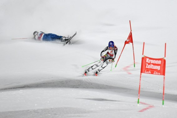 Drie op drie: Petra Vlhova wint ook parallelle slalom in Lech