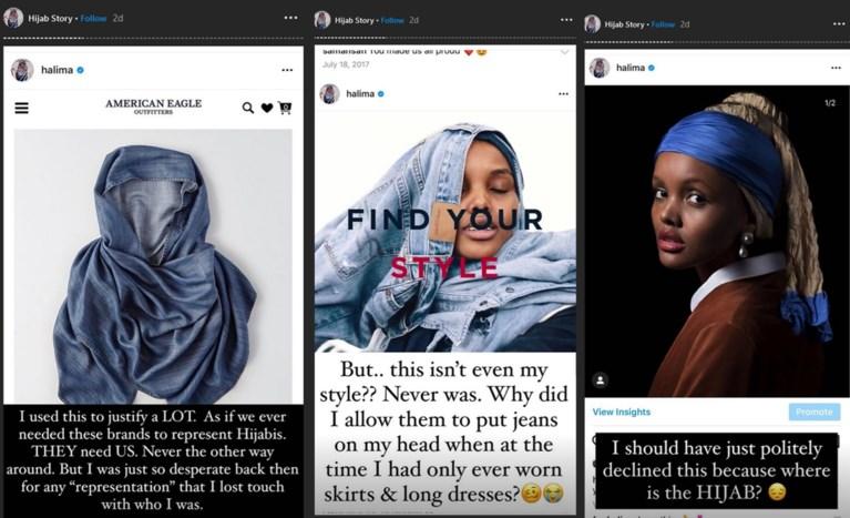 Eerste model met hidjab stopt met catwalkshow