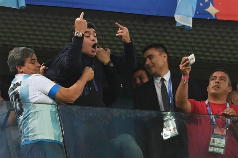 Voetballegende Maradona overleden