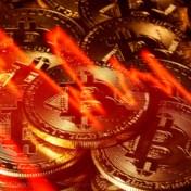 Geen record maar koersval voor bitcoin