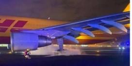 Vliegtuig vol in de remmen bij opstijgen Brussels Airport: acht banden gesprongen