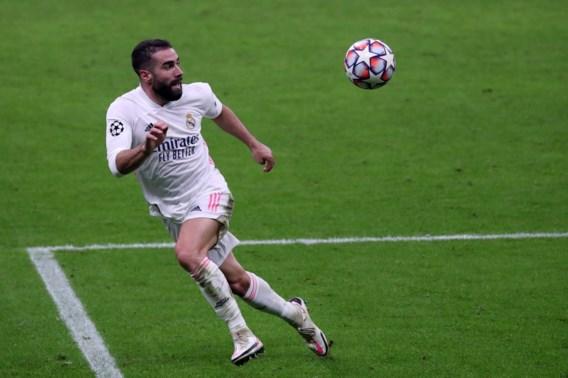 Real Madrid-verdediger Dani Carvajal ligt alweer in de lappenmand