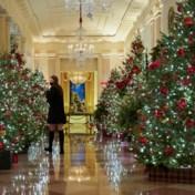 Melania Trump hult Witte Huis voor (voorlopig) laatste keer in kerstsfeer