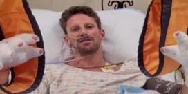 Grosjean vanuit ziekenhuisbed: 'Zonder halo kon ik dit niet navertellen'