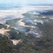 Australisch Unesco-werelderfgoed raakt verwoest door bosbranden