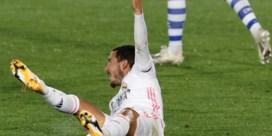 Eden Hazard is out met spierblessure in rechterdij
