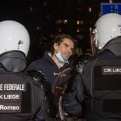 Organisatoren van coronaprotestmars Luik zoeken getuigen van 'repressie' door politie
