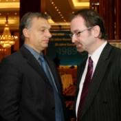 Een medestander van premier Orban