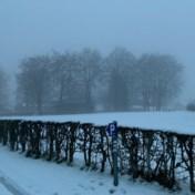 Eerste sneeuw van het seizoen