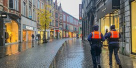 Opvallend rustig in Leuvense winkelstraten