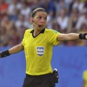 'Spelers gaan echt niet trager lopen omdat ik een vrouw ben'