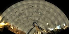 Chinese maanlander stuurt eerste kleurbeelden terug naar Aarde