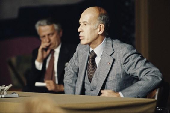 Macron over overleden Valéry Giscard d'Estaing: 'Zijn beleid heeft Frankrijk getransformeerd'