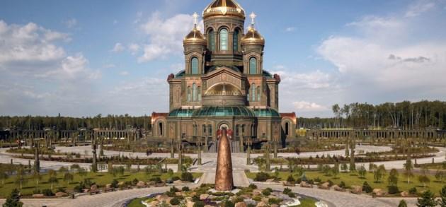 De kathedraal die Poetins erfenis zal definiëren