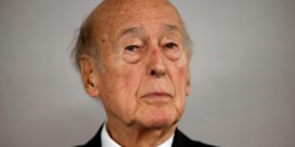 Voormalig president Valéry Giscard d'Estaing overleden