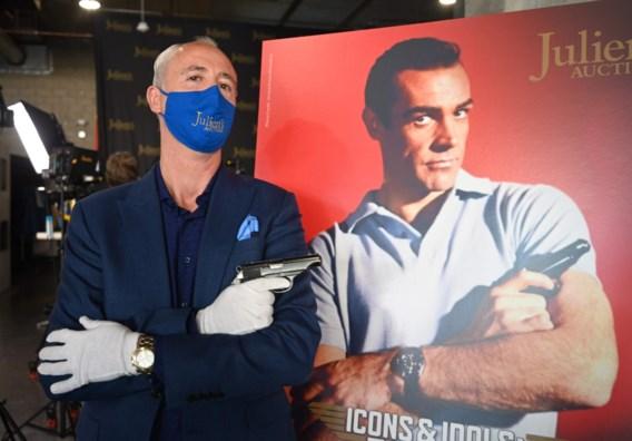James Bond-pistool Sean Connery verkocht voor 256.000 dollar