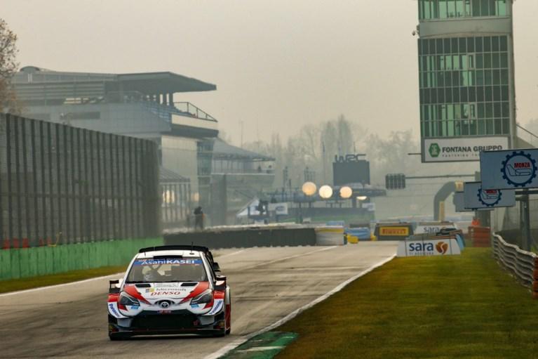 Dani Sordo leidt in Rally van Monza, Elfyn Evans op titelkoers