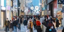 Brussel meteen aan maximumcapaciteit tijdens eerste winkelweekend