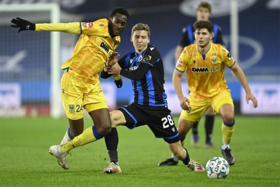 Club Brugge laat zich niet verrassen door STVV