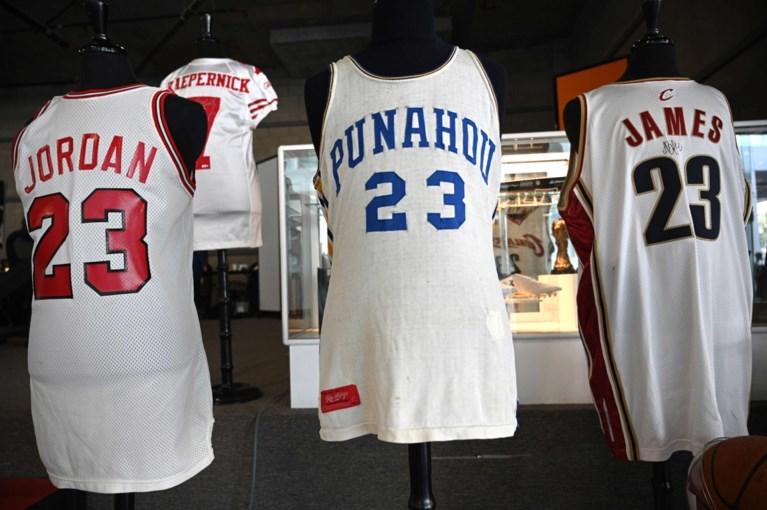 Shirt van Michael Jordan uit 1984 levert recordbedrag op