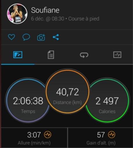 """Soufiane Bouchikhi was op weg naar olympisch ticket, maar zakte in voorlaatste kilometer marathon in elkaar: """"Plots lag ik in de ambulance"""""""