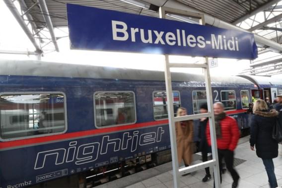 'Brussel krijgt weer nachttrein naar Berlijn en Parijs'