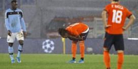 Brugge blijft steken op 2-2 in Rome en moet naar Europa League