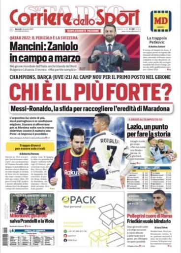 """Trainers van Barcelona en Juventus willen niet kiezen tussen Messi en Ronaldo: """"Onmogelijk"""""""