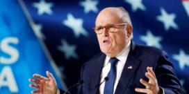 Giuliani, advocaat Trump, denkt woensdag het ziekenhuis te mogen verlaten