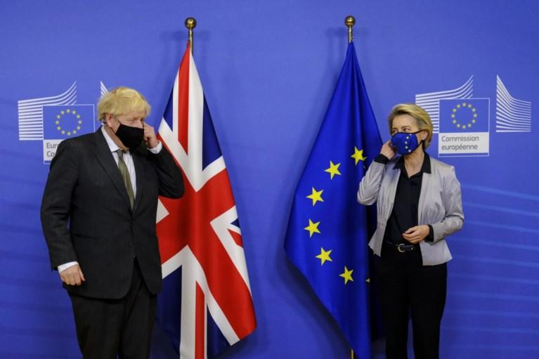 Brexit: Geen doorbraak in onderhandelingen handelsakkoord, zondag nieuwe deadline