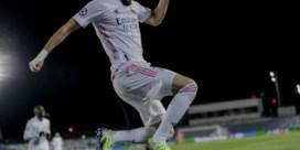 Benzema redt vel van Zidane