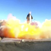 SpaceX-raket ontploft bij testlanding, Musk toch tevreden